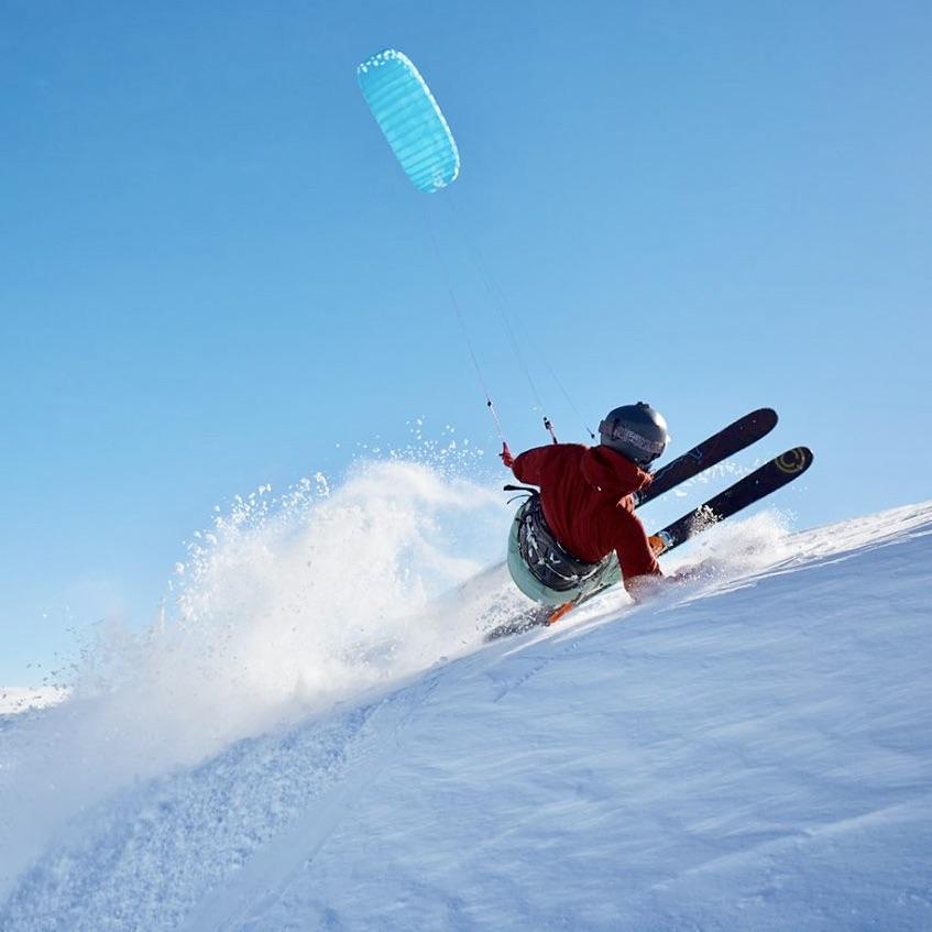 Cours de perfectionnement snowkite