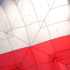 Parachute de secours tandem